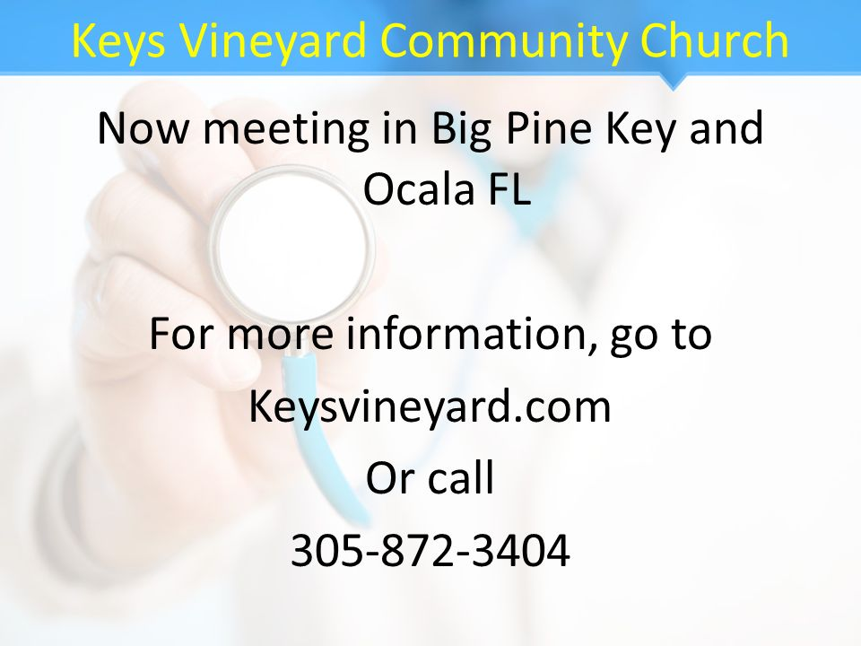 Keys Vineyard Community Church