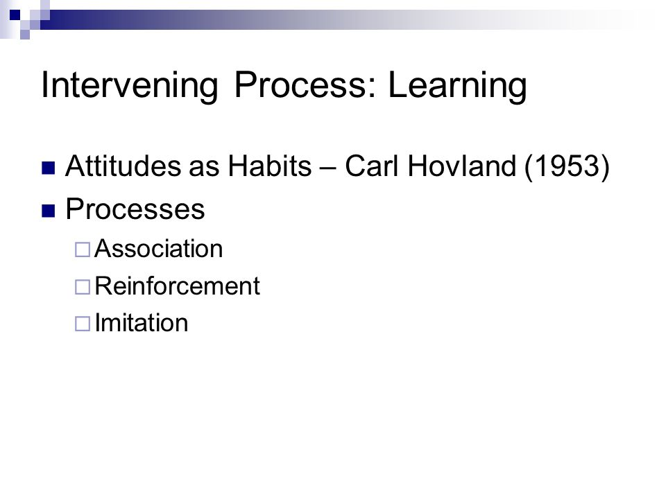 Intervening Process: Learning