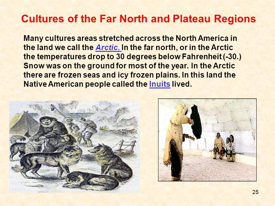 Cultures of the Far North and Plateau Regions