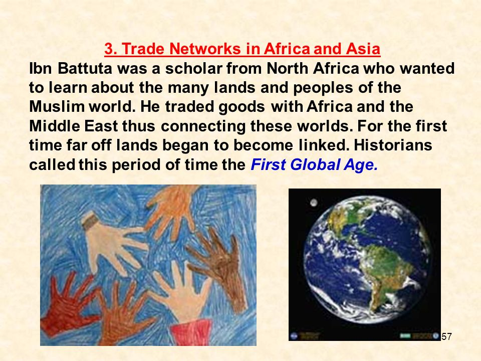 3. Trade Networks in Africa and Asia