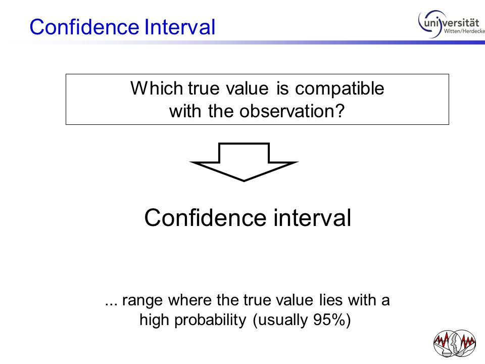 Which true value is compatible with the observation