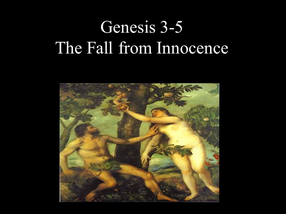 The Fall from Innocence