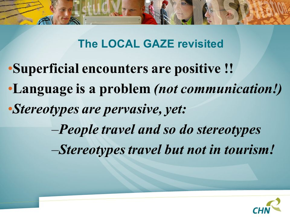 The LOCAL GAZE revisited