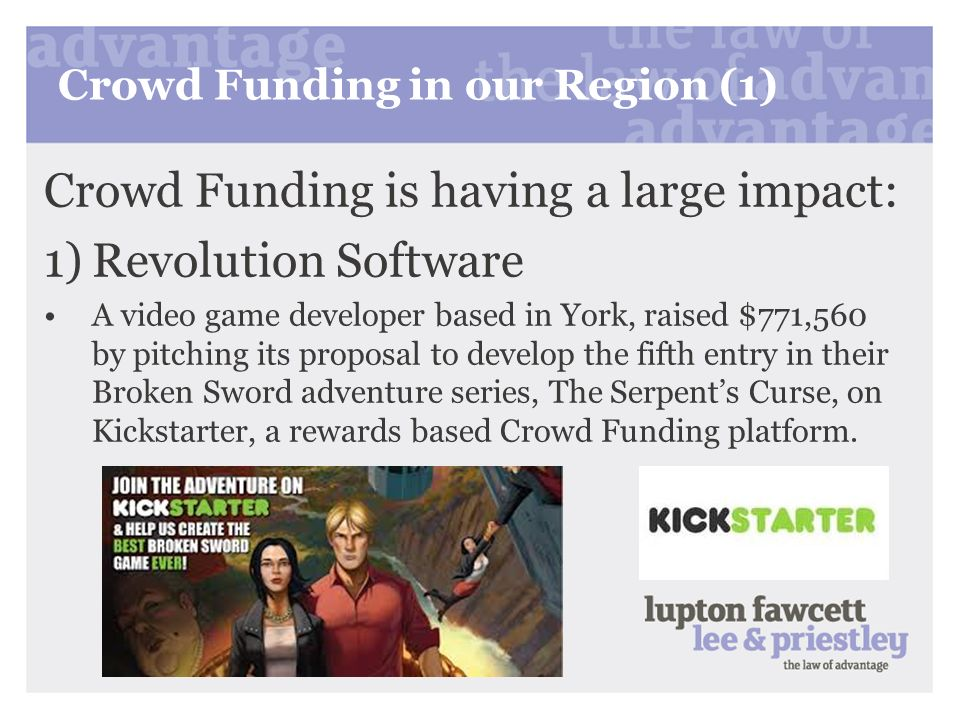 Crowd Funding in our Region (1)