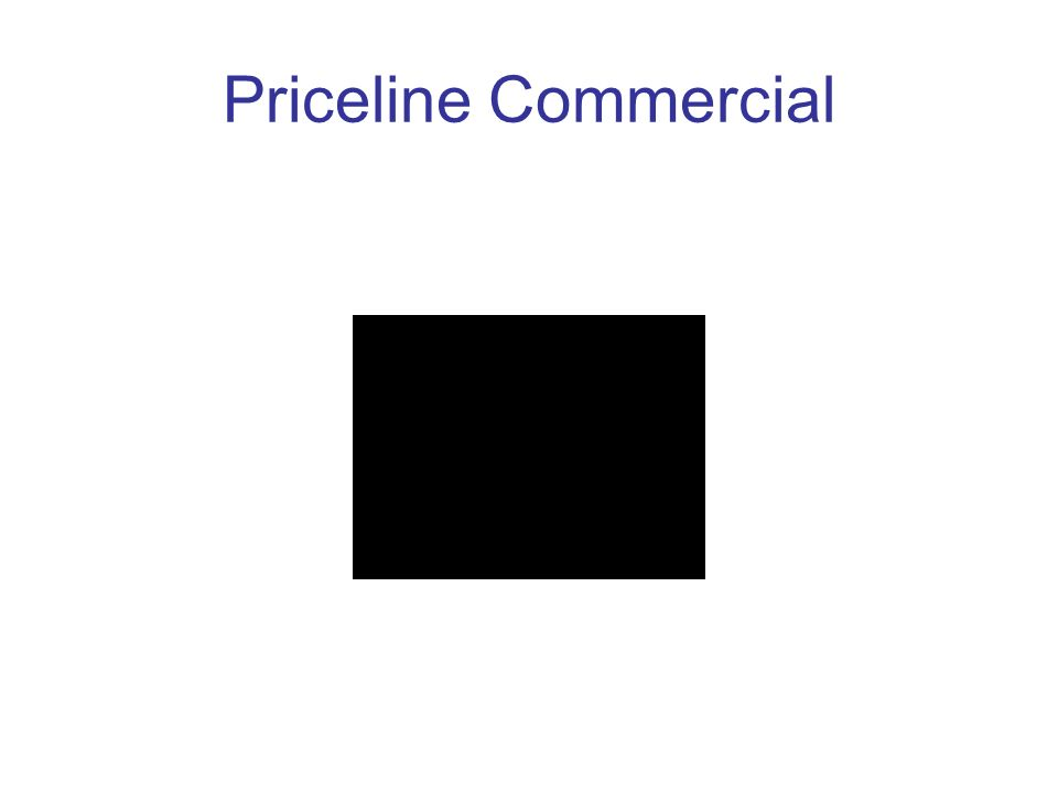 Priceline Commercial