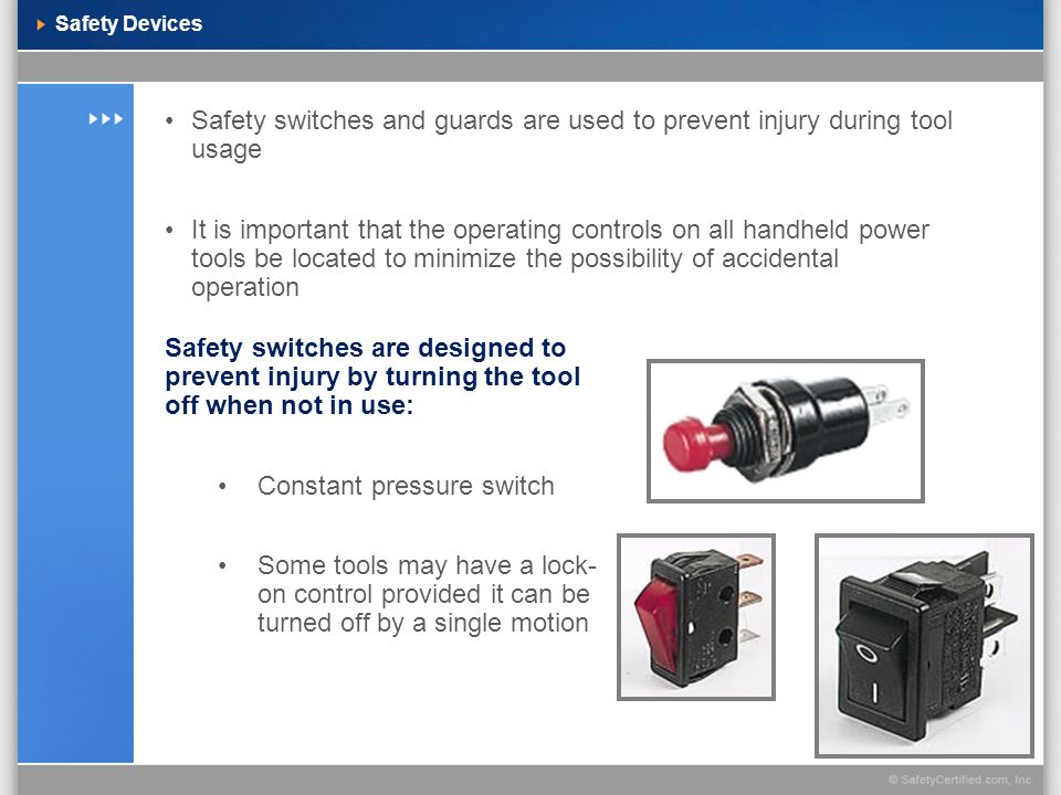 Constant pressure switch