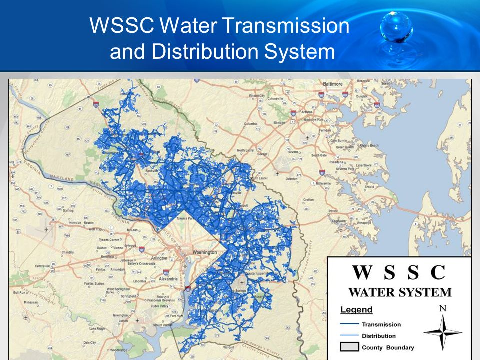 WSSC Water Transmission and Distribution System