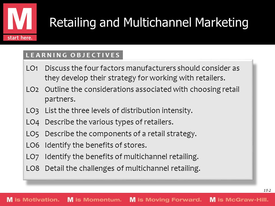 Retailing and Multichannel Marketing