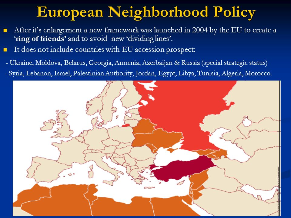 European Neighborhood Policy
