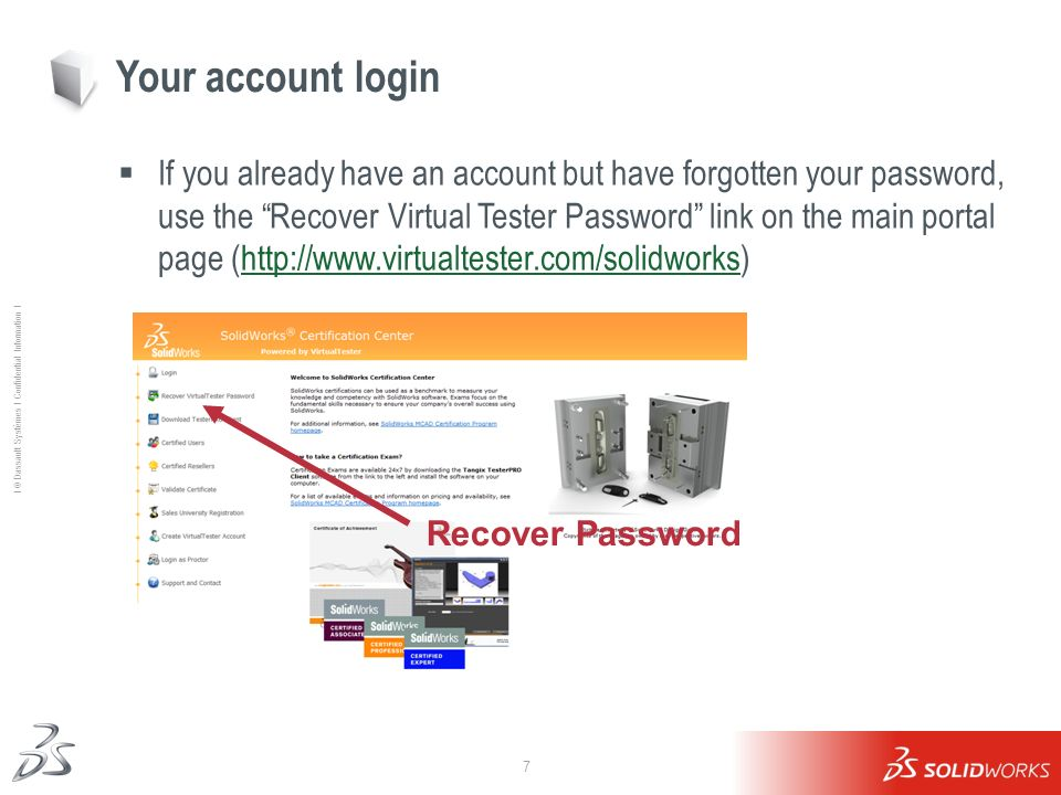 Your account login