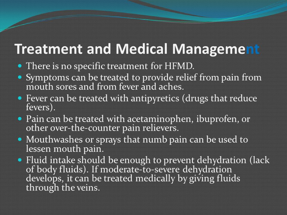 Treatment and Medical Management