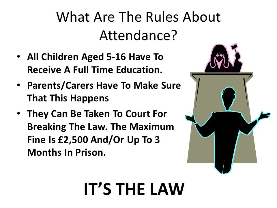 What Are The Rules About Attendance