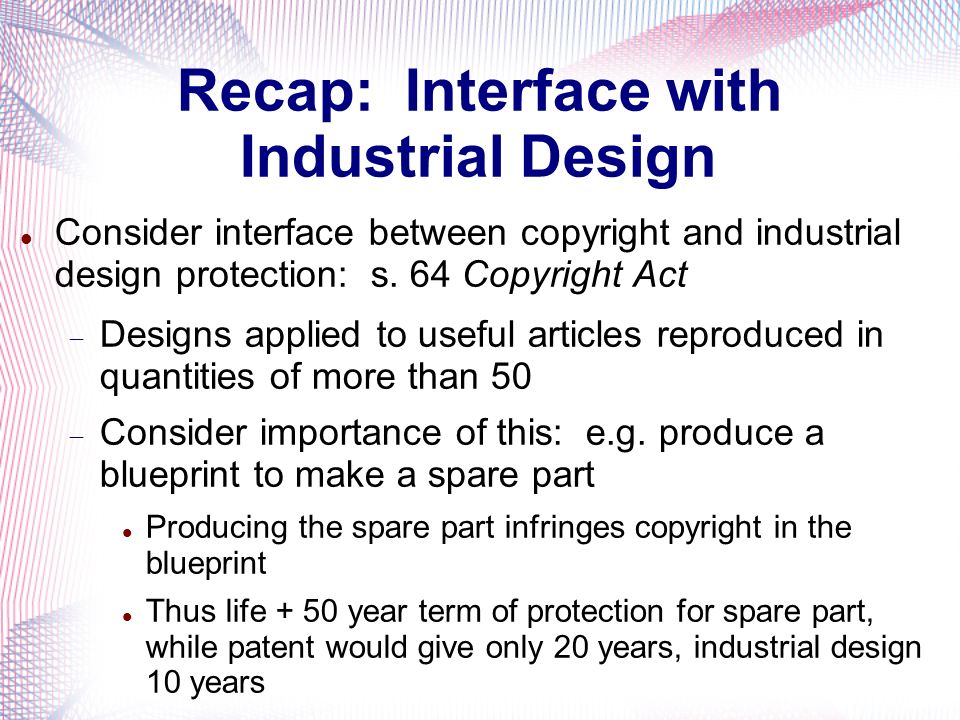 Recap: Interface with Industrial Design