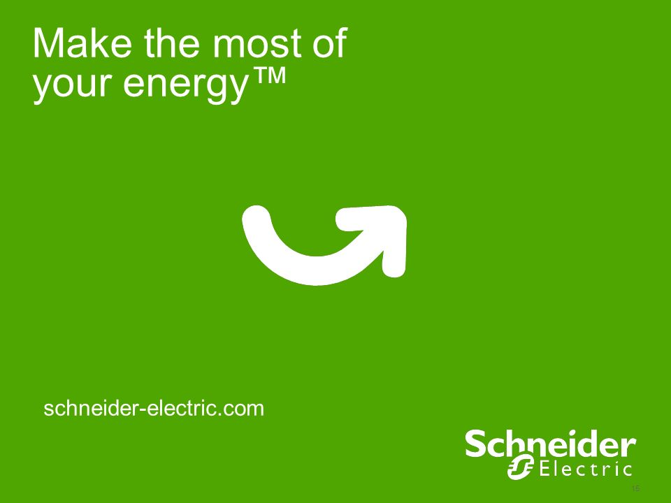Make the most of your energy™