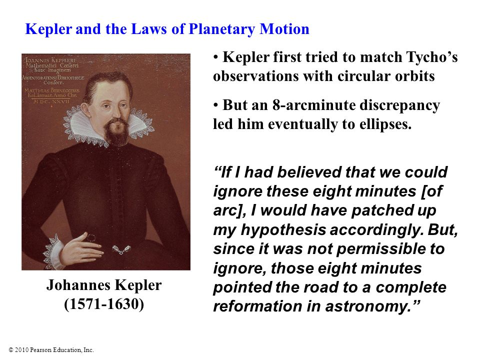 Kepler and the Laws of Planetary Motion
