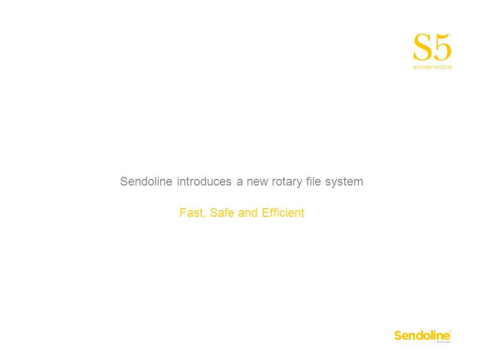 Sendoline introduces a new rotary file system