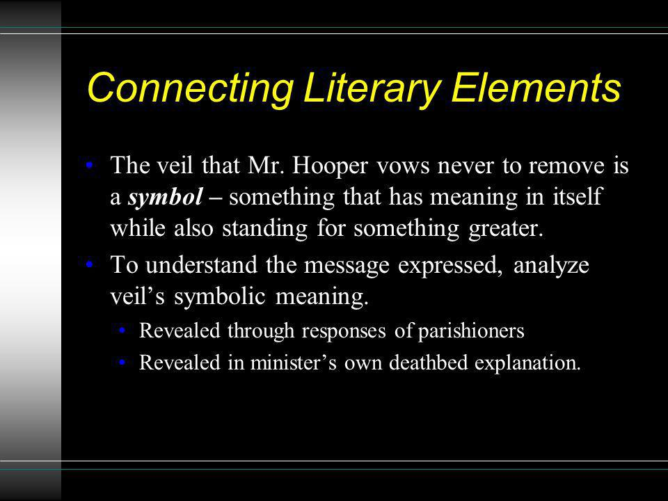 Connecting Literary Elements