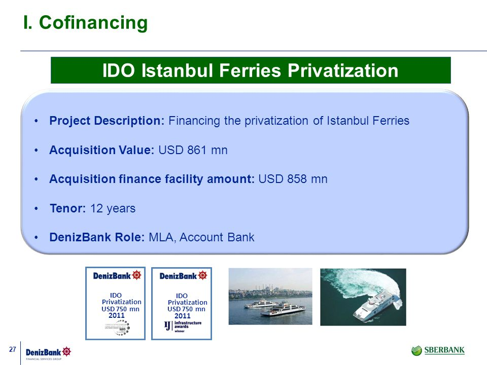 IDO Istanbul Ferries Privatization