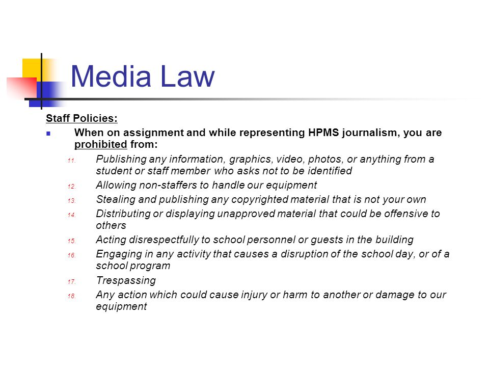 media law essay Read this full essay on law vs media - good, thought provoking paper i have elected to write an essay dealing with not just a news event, but an action th.