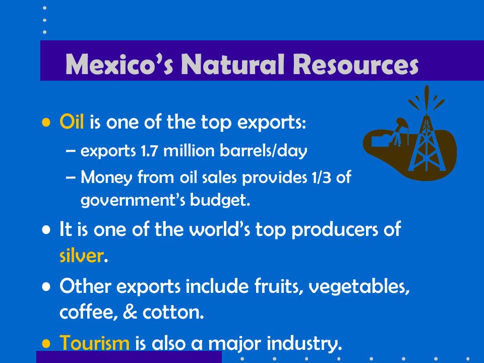 6 mexicos natural resources