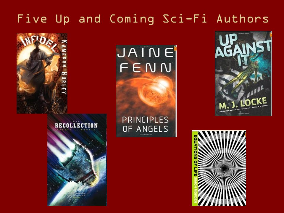 Five Up and Coming Sci-Fi Authors