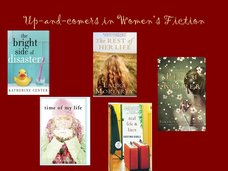 Up-and-comers in Women's Fiction