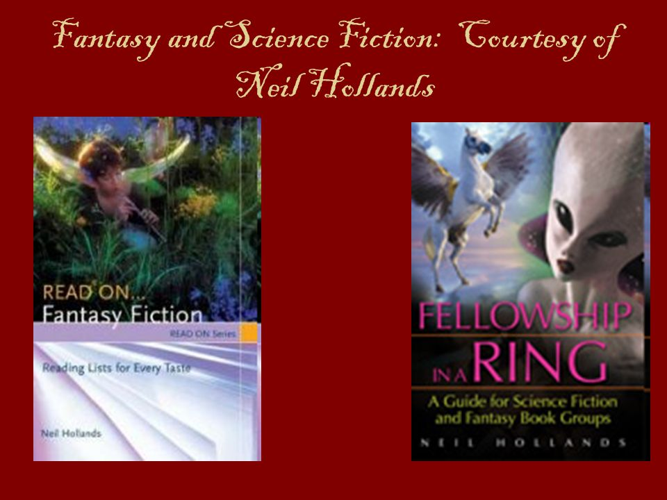 Fantasy and Science Fiction: Courtesy of Neil Hollands