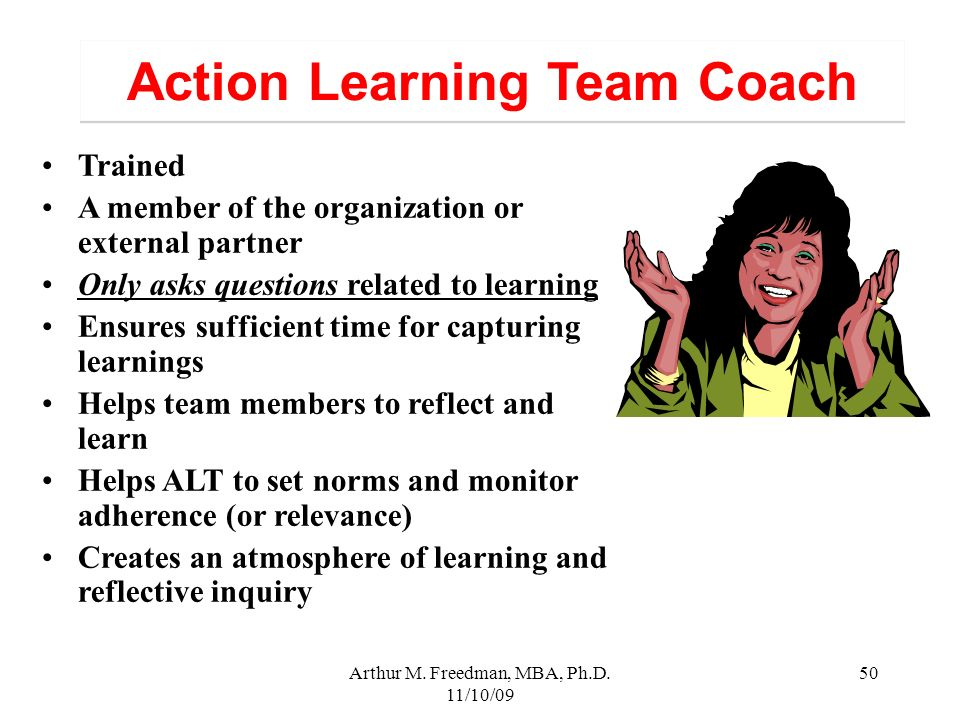 Action Learning Team Coach