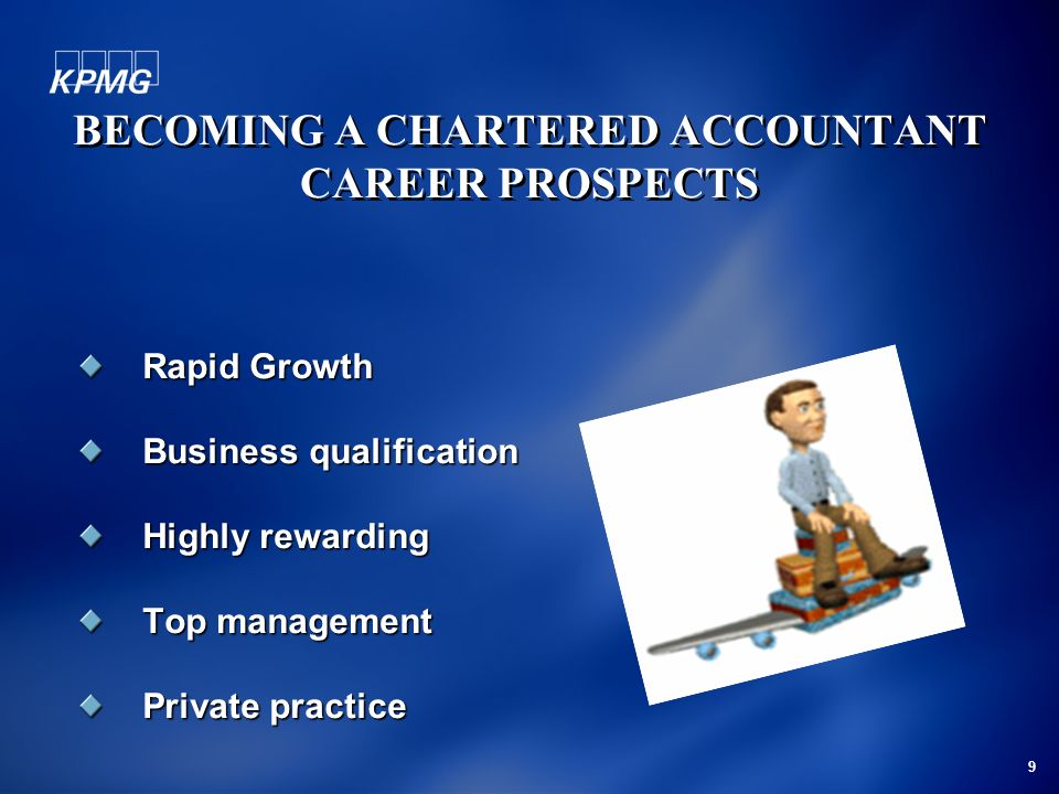 BECOMING A CHARTERED ACCOUNTANT CAREER PROSPECTS