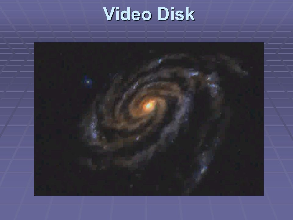 Video Disk