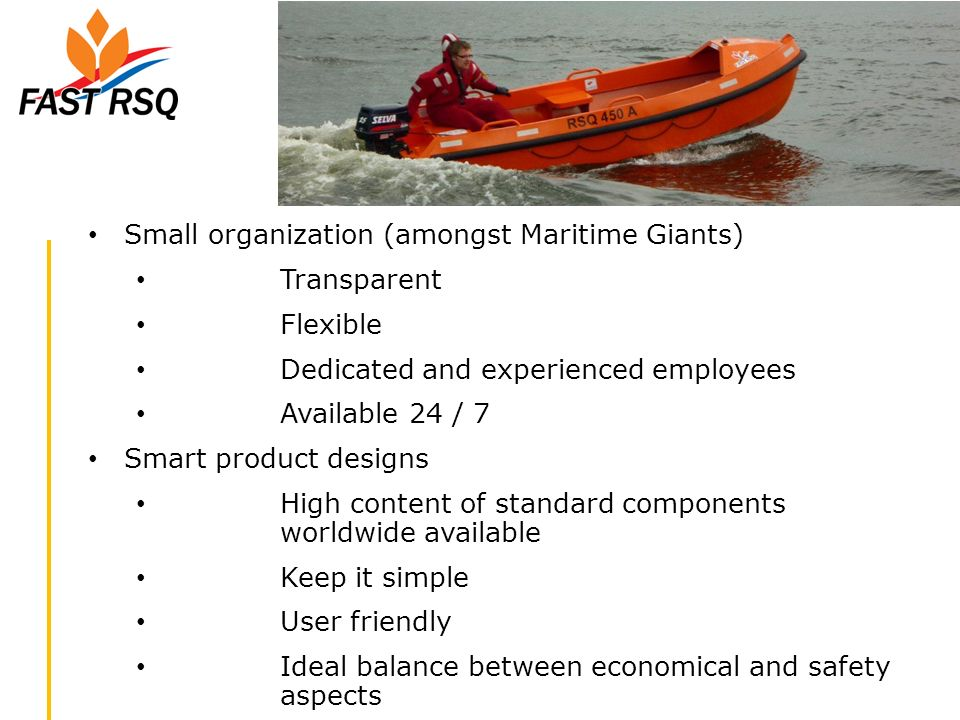 Small organization (amongst Maritime Giants)