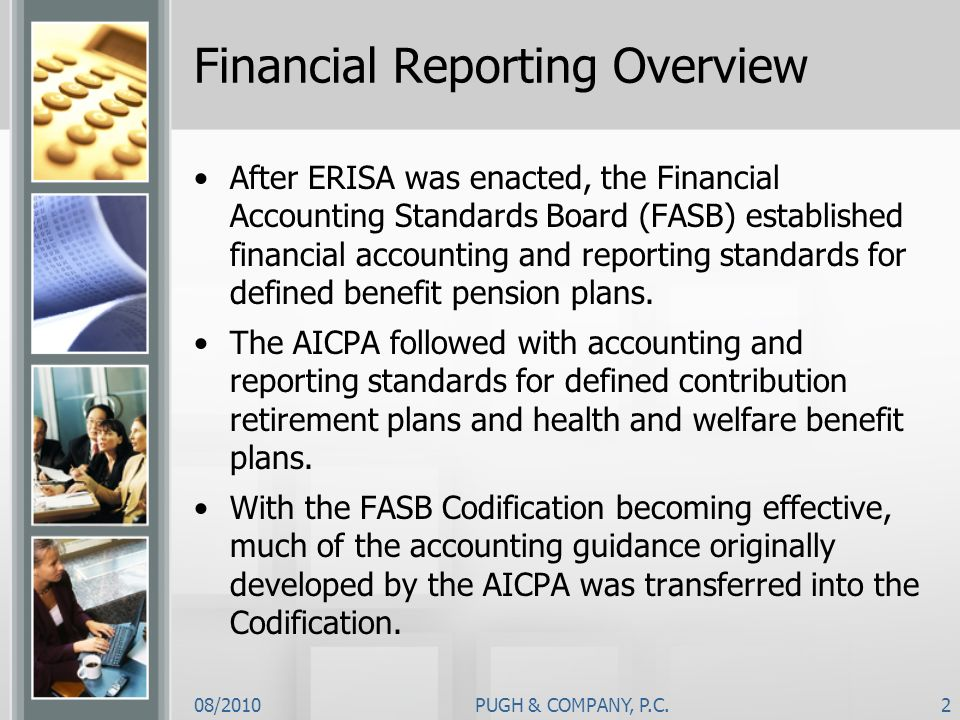 Financial Reporting Overview