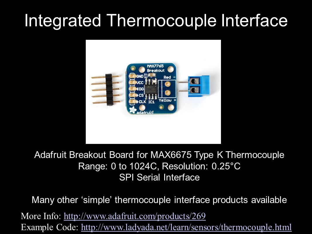 Integrated Thermocouple Interface