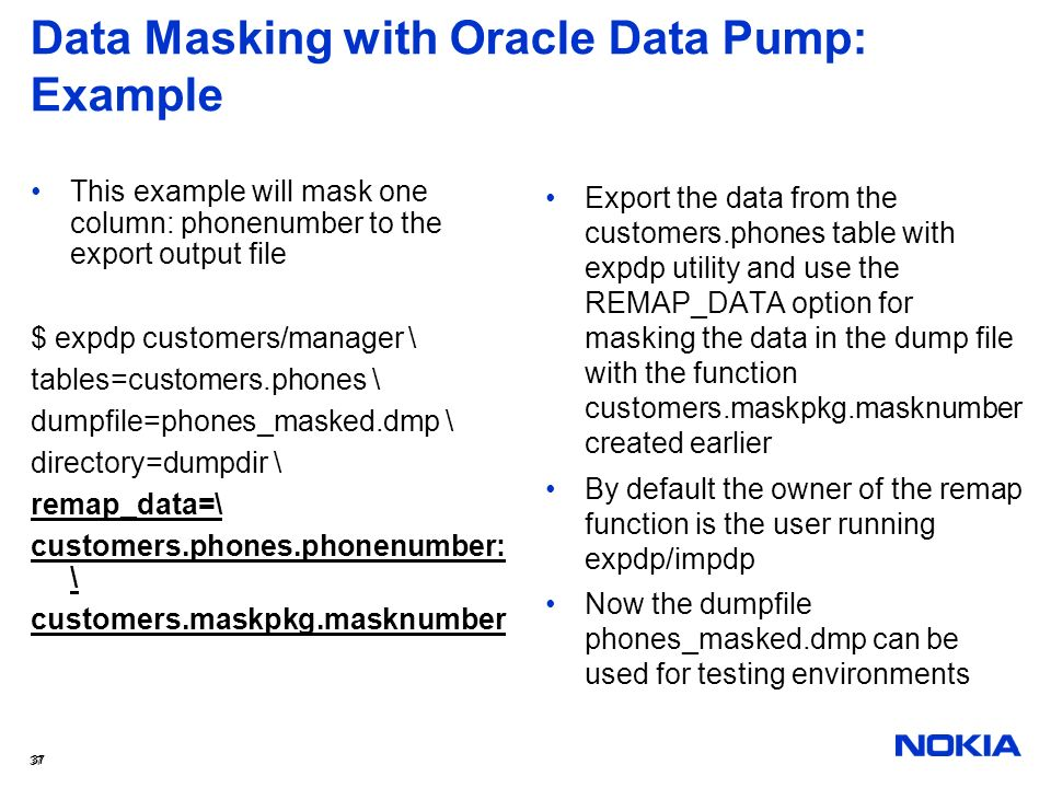 Get the Best Out of Oracle Data Pump Functionality - ppt