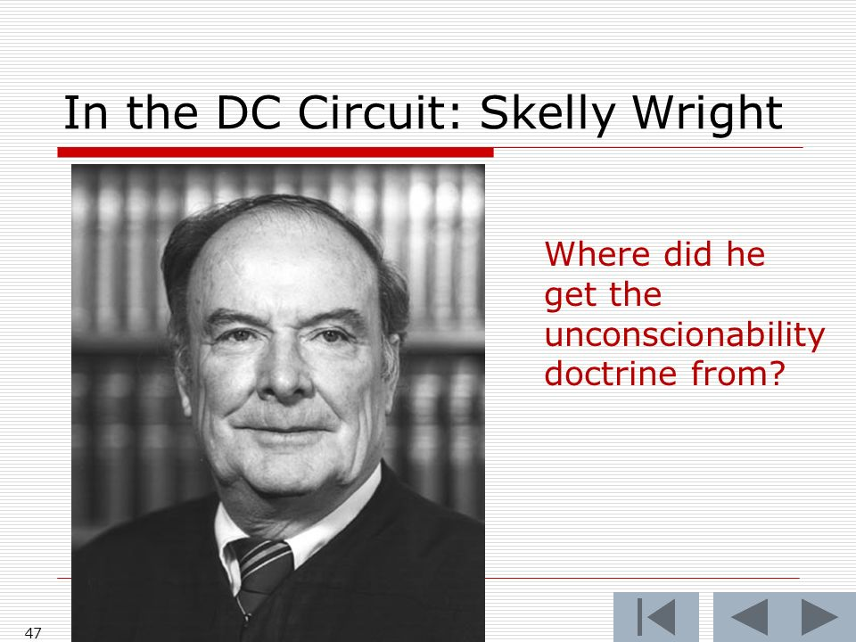 In the DC Circuit: Skelly Wright