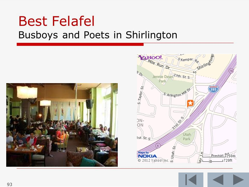 Best Felafel Busboys and Poets in Shirlington