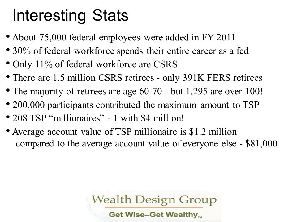 Interesting Stats About 75,000 federal employees were added in FY 2011