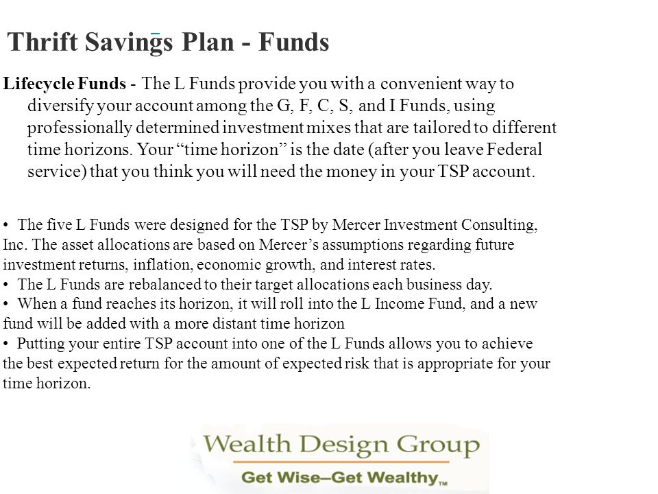 Thrift Savings Plan - Funds