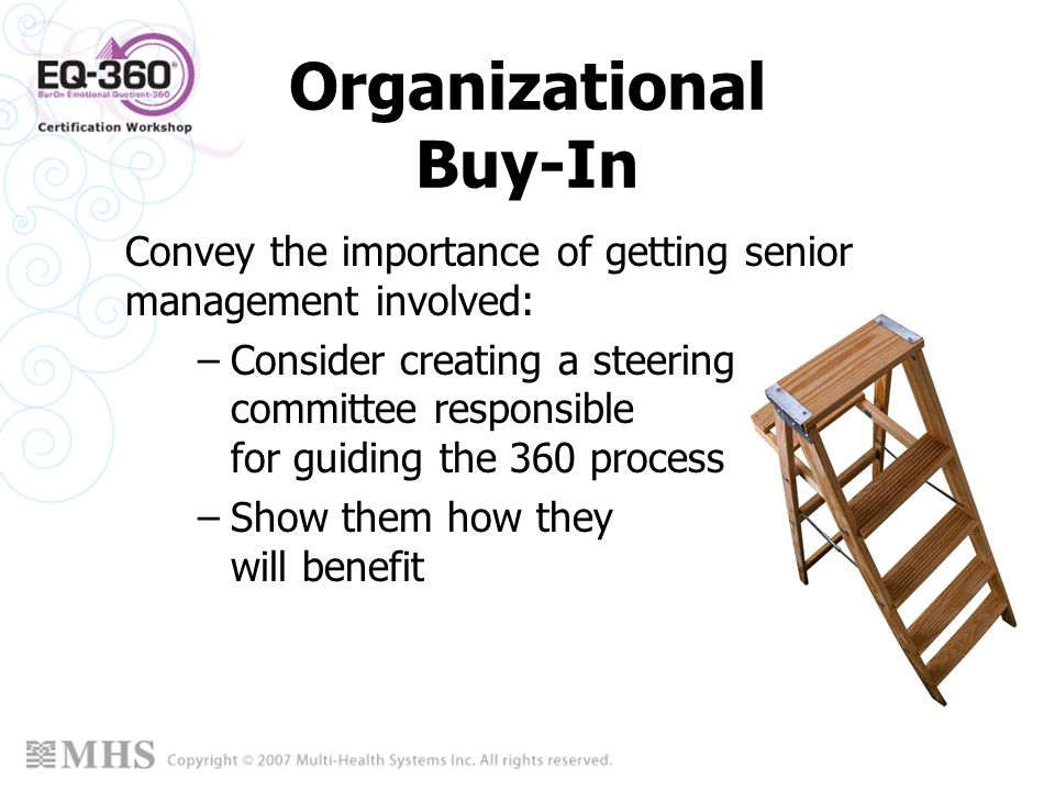 Organizational Buy-In