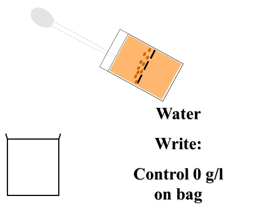 Water Write: Control 0 g/l on bag