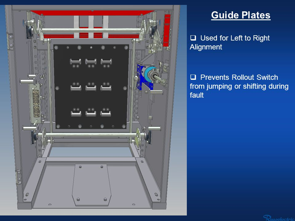 Guide Plates Used for Left to Right Alignment