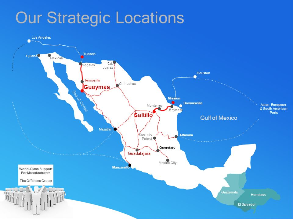 Our Strategic Locations