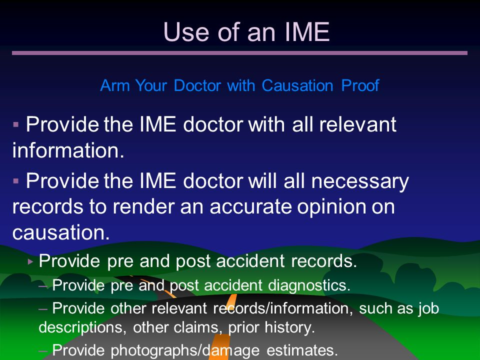 Arm Your Doctor with Causation Proof