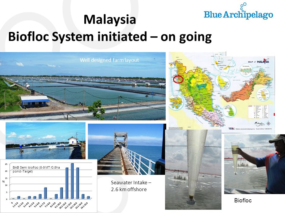 Malaysia Biofloc System initiated – on going