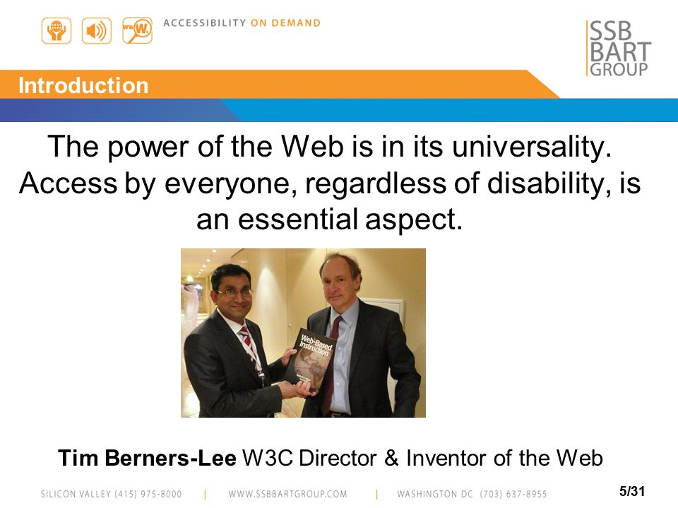 Tim Berners-Lee W3C Director & Inventor of the Web