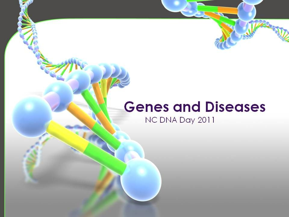 Could you please insert 'Genes and Diseases' intro slide here
