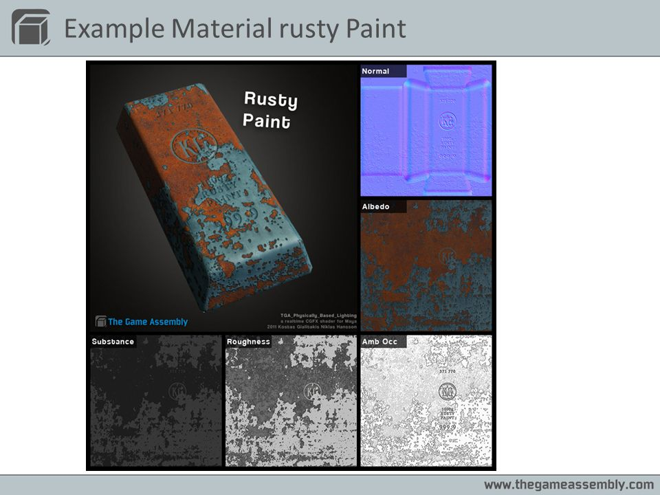 Example Material rusty Paint