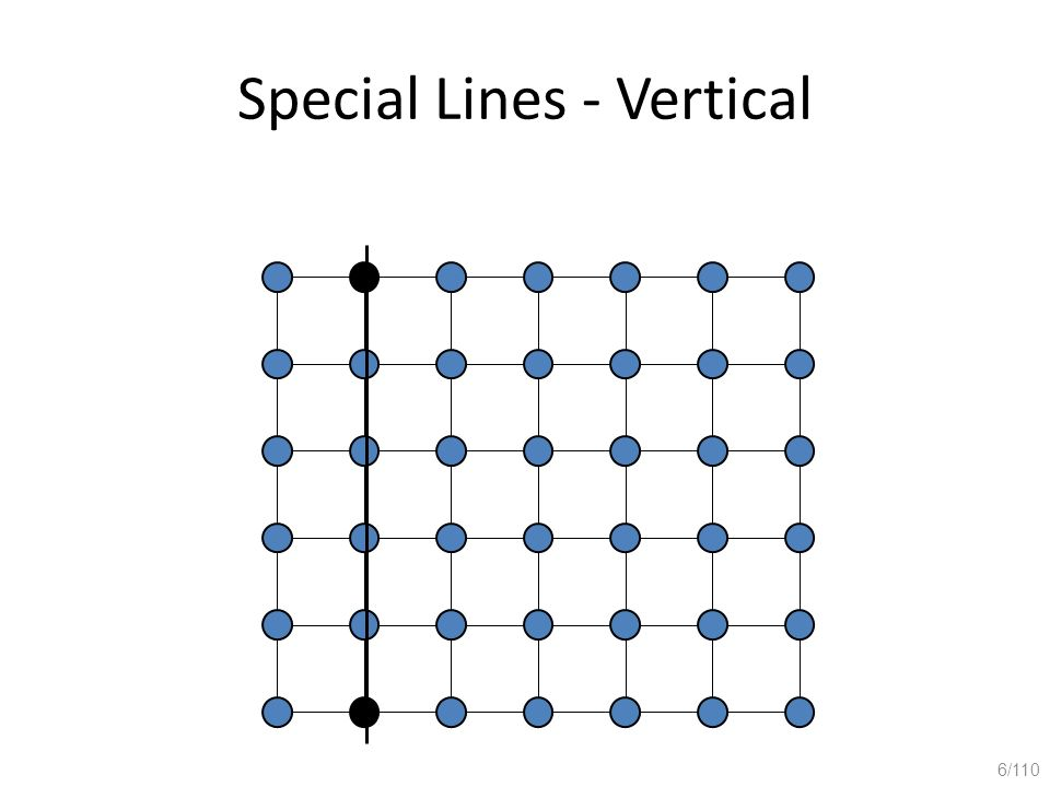 Special Lines - Vertical