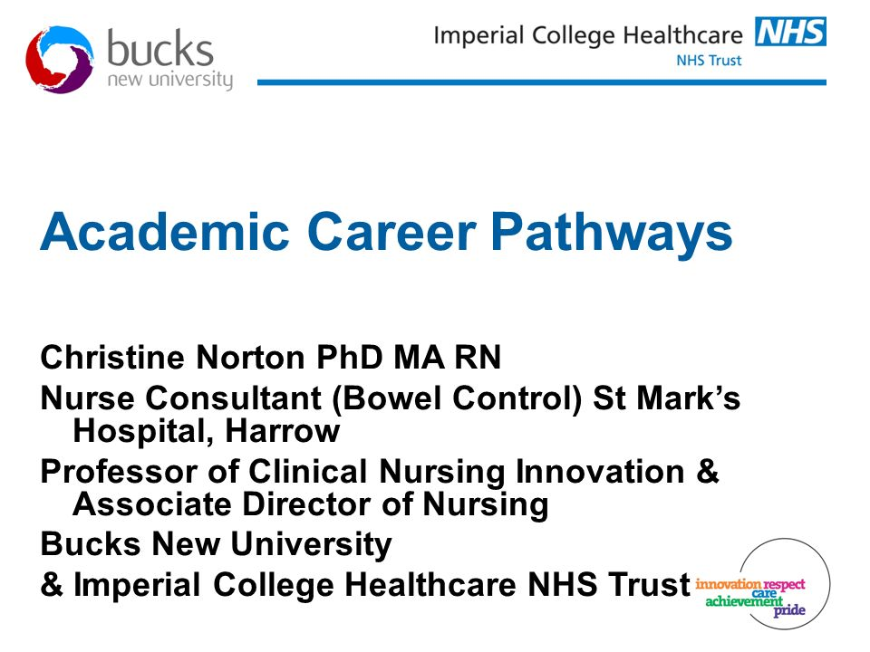 Academic Career Pathways