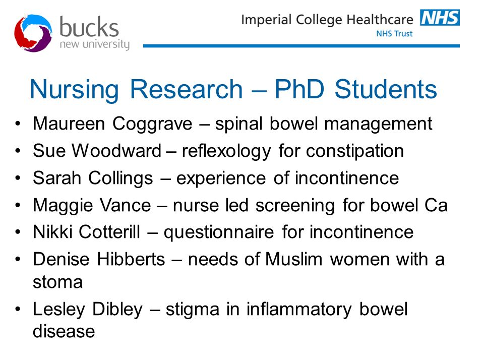 Nursing Research – PhD Students